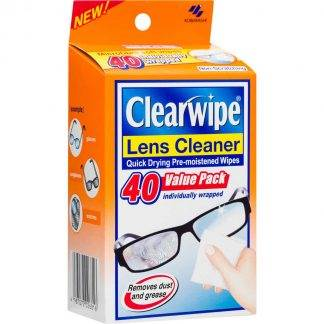 Clearwipe Lens Cleaner 20 Wipes