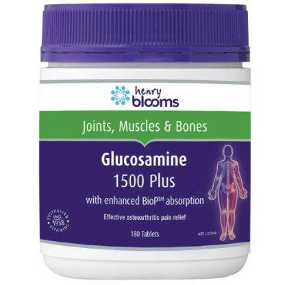 Henry Blooms Glucosamine Plus 180 Tablets