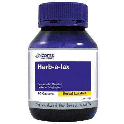 Henry Blooms Herb-a-lax 90 Capsules