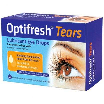 Optifresh Tears Eye Drop 0.5% 30 Vials