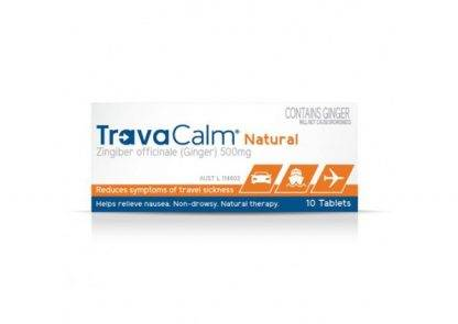 Travaclam Natural 10 Tablets