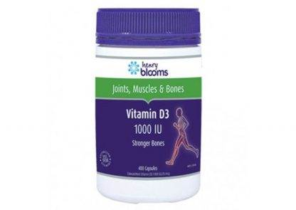 Henry Blooms Vitamin D3 400 Capsules