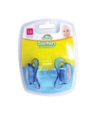 MagiKiddy Decorated Soothers 2 Pack